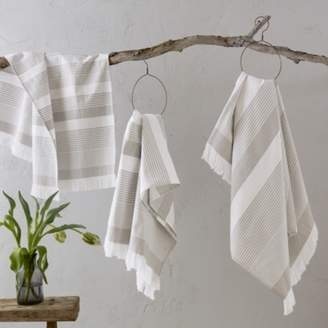 The White Company Corsica Stripe Hammam Towels