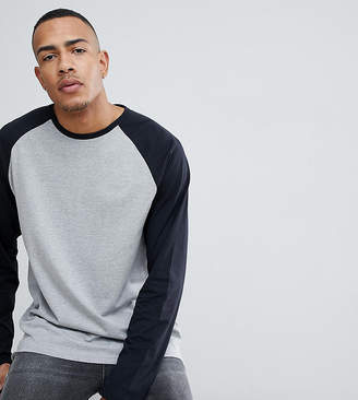 Jacamo Long Sleeve Raglan T-Shirt