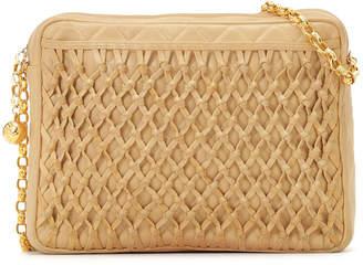 Chanel (シャネル) - Luxury Brands Vintage Bags & Accessories CHANEL ラムレザー ショルダーバッグ ベージュ