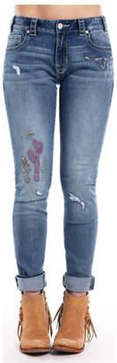 Rock & Roll Cowgirl Boyfriend Skinny Jean