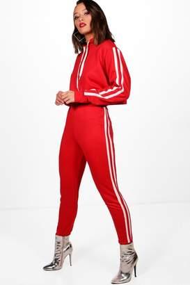 boohoo Tegan Athleisure Side Stripe Jogger