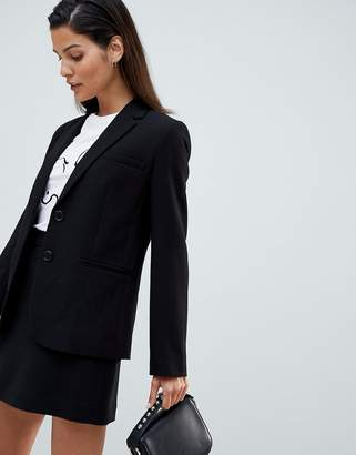 French Connection Whisper Ruth Fitted Blazer