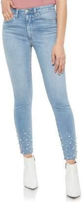 Joe's Jeans The Charlie Ankle Pearl Skinny Jeans