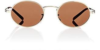 Oliver Peoples The Row THE ROW WOMEN'S EMPIRE SUITE SUNGLASSES-BRUSHED GOLD, PERSIMMON