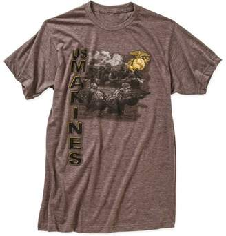 Big Men's Military Officially Licensed Marines Officially Licensed Select Tee, 2XL