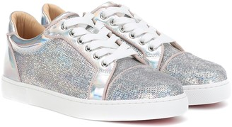 Christian Louboutin Vieira sequined sneakers