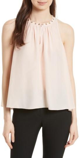 Women's Kate Spade New York Studded Silk Top