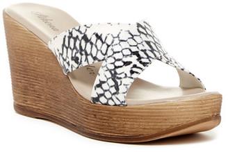 Athena Alexander Rialto Platform Wedge Sandal $84.95 thestylecure.com