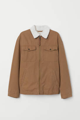 H&M Canvas Jacket - Beige