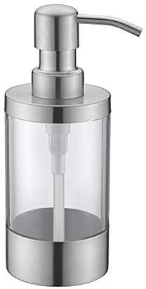 clear WENKEN Countertop Soap Dispensers Lotion Bottle with Rust Proof Stainless Steel Pump