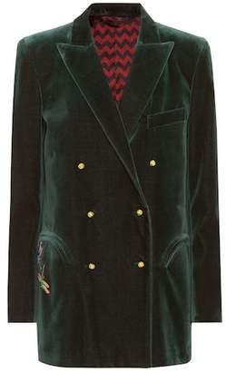 Blazé Milano Everyday velvet blazer
