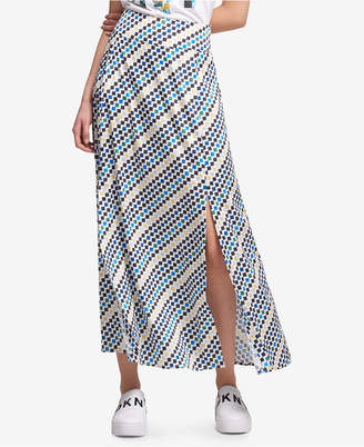 DKNY Printed Slit Maxi Skirt, Created for Macy's