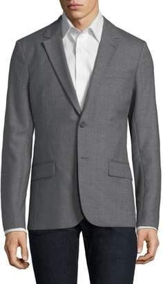 Ami Paris Wool Notch Lapel Sportcoat