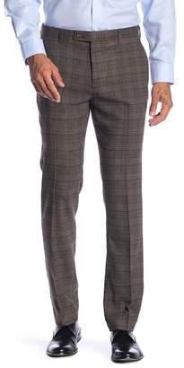 "Paisley & Gray Downing Plaid Slim Fit Pants - 30-34\"" Inseam"