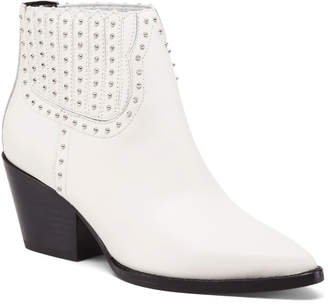 Dolce Vita Studded Leather Boots
