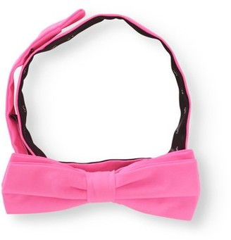 George Neon Pink Bow Tie