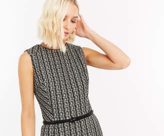 Oasis BELTED MONOCHROME SHIFT DRESS