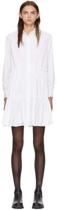 McQ White Victorian Short Dress