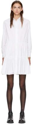 McQ White Victorian Short Dress