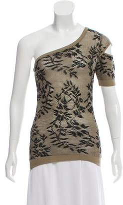 Helmut Lang Vintage Lace One-Shoulder Top