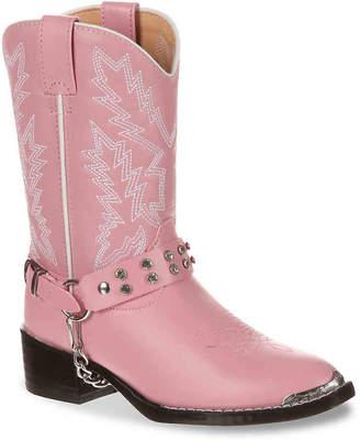 Durango Rhinestone Youth Cowboy Boot - Girl's