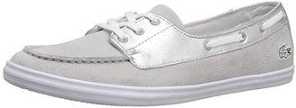 Lacoste Women's Ziane Deck 116 1 Fashion Sneaker $89.95 thestylecure.com