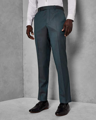 Ted Baker SYLVAT Pashion slim plain wool trousers