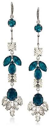 ABS by Allen Schwartz Womens Set In Stone Drop Earrings