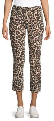 Paige Hoxton High-Rise Ankle Straight Jeans