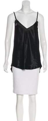 L.A.M.B. V-Neck Sleeveless Top