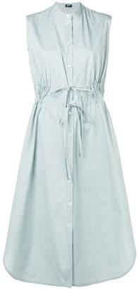 Jil Sander Navy sleeveless shirt dress