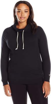Champion Women's Plus French Terry Funnel Top