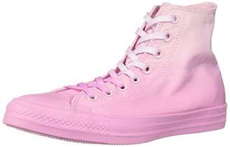 Converse Unisex Chuck Taylor All Star Dip Dye High Top Sneaker Foam Pink Rise