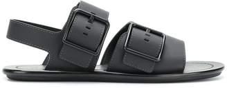 Lanvin flat buckle sandals