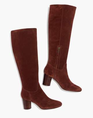 Madewell The Scarlett Tall Boot in Suede