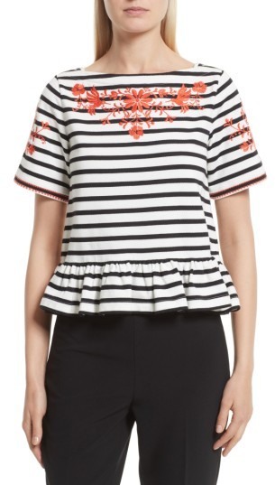 Women's Kate Spade New York Embroidered Tee