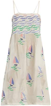 Thierry Colson Rock the Boat silk dress
