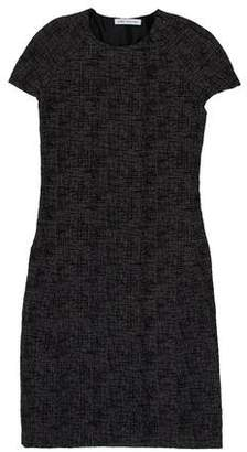 Behnaz Sarafpour Knee-Length Wool Dress