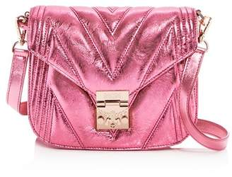 MCM Patricia Small Quilted Leather Shoulder Bag