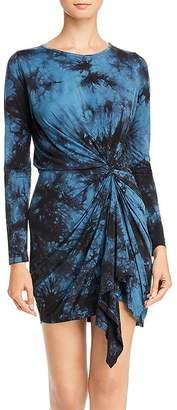 Young Fabulous & Broke Maisie Draped Tie-Dye Dress