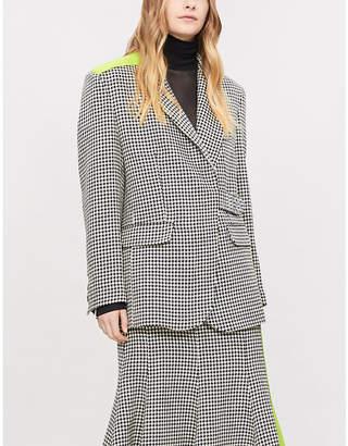 Natasha Zinko Houndstooth wool jacket