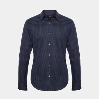 Theory Polka Dot Standard-Fit Shirt