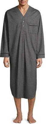 STAFFORD Stafford Men's Flannel Nightshirt - Big