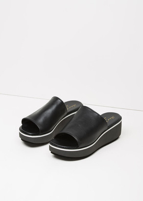 Robert Clergerie Pole Platform Slide $450 thestylecure.com