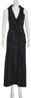 Gucci Sequined Evening Dress