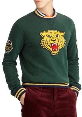 Polo Ralph Lauren Vintage Fleece Knit Sweatshirt