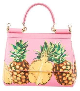 Dolce & Gabbana 2017 Pineapple Mini Miss Sicily Bag