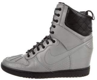 Nike Suede High-Top Sneakers