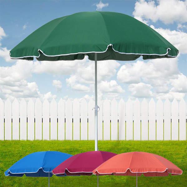 Sonnenschirm mit Knickgelenk