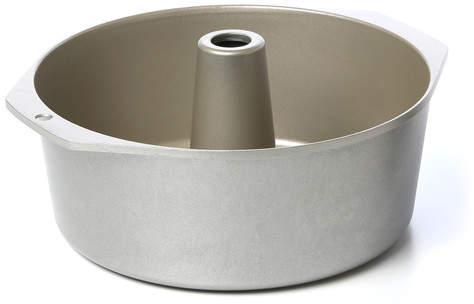 Nordic Ware Bundt Brand Bakeware Platinum 18 Cup Pound Cake/Angel Food Pan